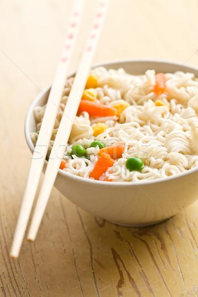 asian noodle soup Stock photo © jirkaejc