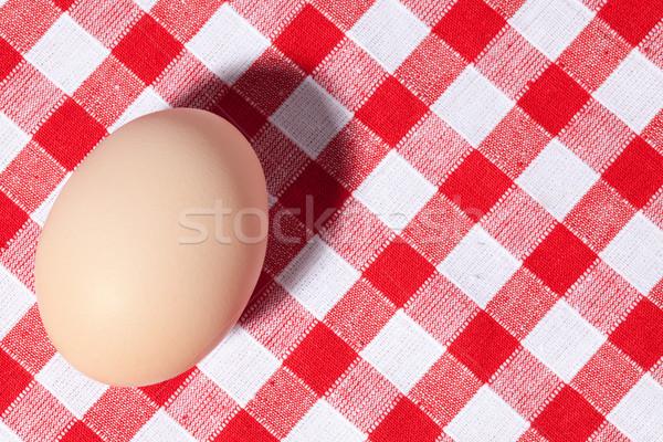 Stok fotoğraf: Yumurta · piknik · masa · örtüsü · fotoğraf · atış · gıda