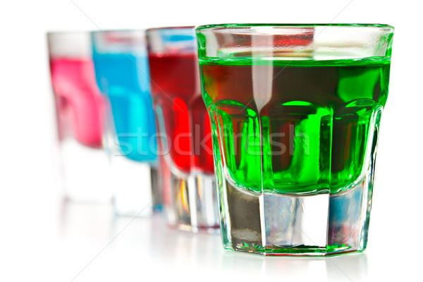 various colorful liquors Stock photo © jirkaejc