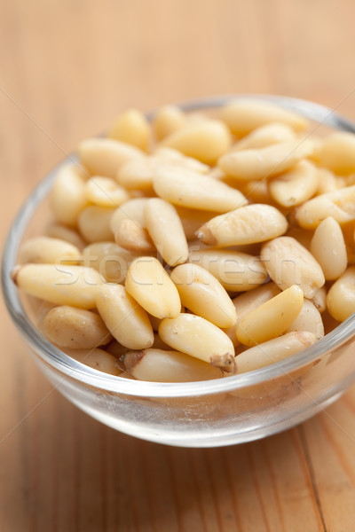 pine nuts in bowl Stock photo © jirkaejc