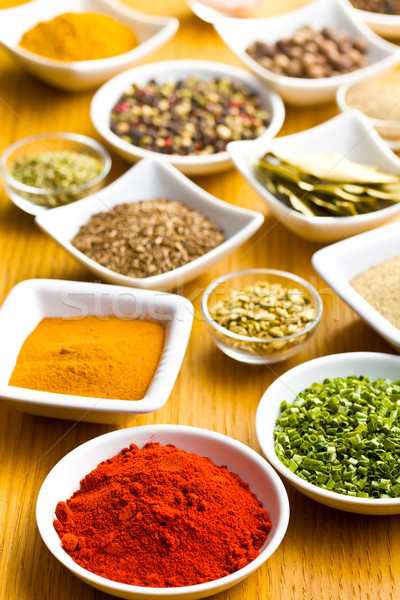 Various spices and herbs. Stock photo © jirkaejc