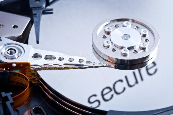 Beveiligde veiligheid software gegevens Stockfoto © jirkaejc