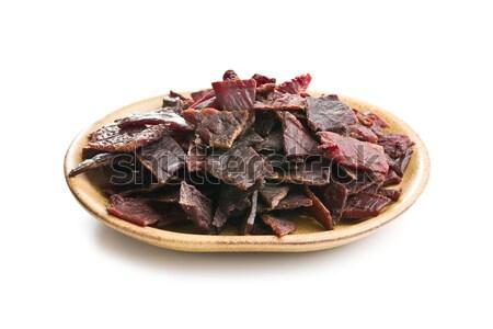 Boeuf alimentaire rouge viande repas coupé Photo stock © jirkaejc