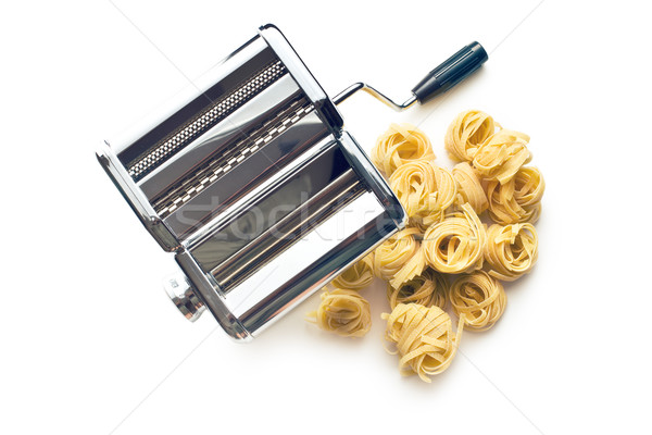 tagliatelle pasta machine Stock photo © jirkaejc