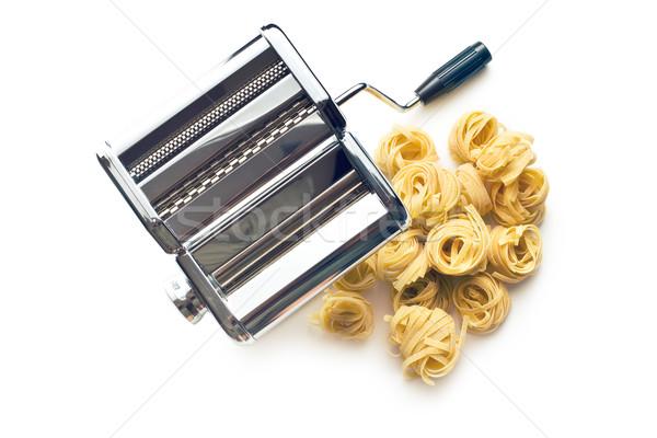 タリアテーレ パスタ マシン 白 食品 料理 ストックフォト © jirkaejc
