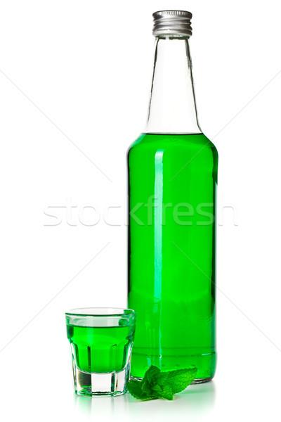green mint liquor Stock photo © jirkaejc