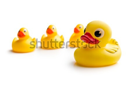 yellow bath ducks Stock photo © jirkaejc