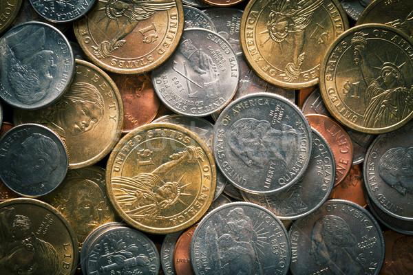 Stock photo: U.S. coins
