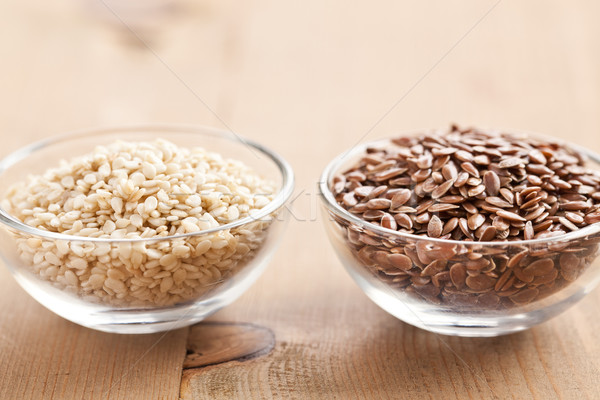 sesame and linseed Stock photo © jirkaejc