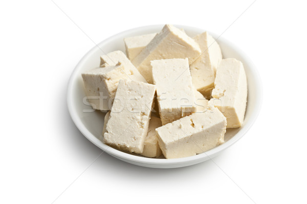 tofu in ceramic bowl Stock photo © jirkaejc