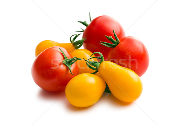 Stock photo: various tomatoes