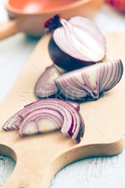 chopped onion Stock photo © jirkaejc