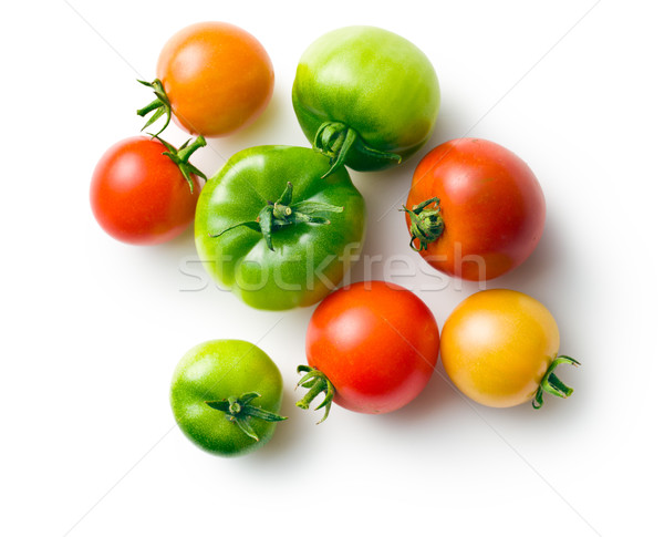 green and red tomatoes Stock photo © jirkaejc