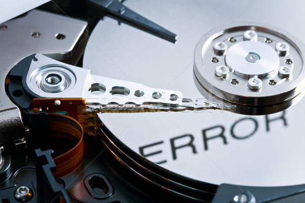 Errore di tecnologia sicurezza software Foto d'archivio © jirkaejc