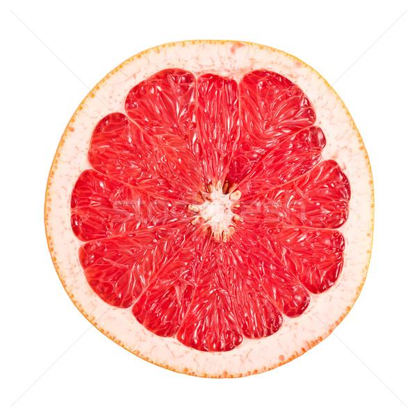 Foto stock: Rojo · pomelo · blanco · aislado · grupo