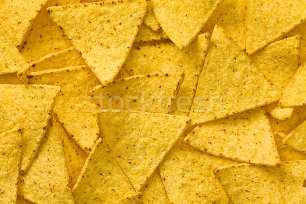 Начо чипов вкусный горячей есть быстро Сток-фото © jirkaejc