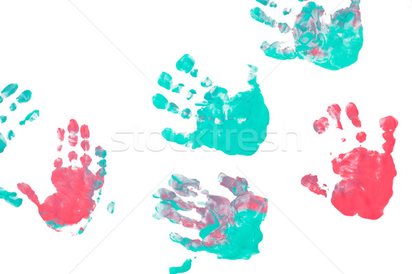 imprint child hands Stock photo © jirkaejc