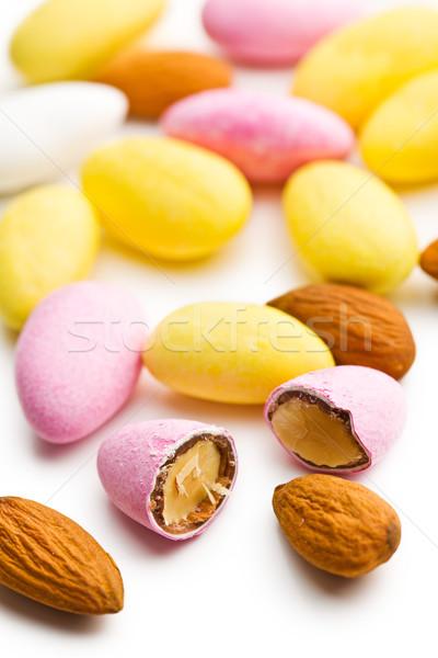 sugared almonds Stock photo © jirkaejc