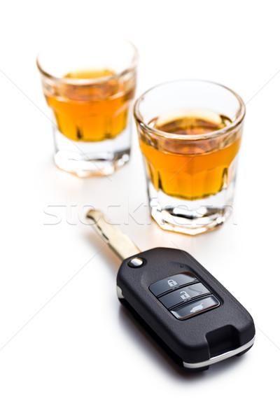 Ital vezetés üveg háttér bár törvény Stock fotó © jirkaejc