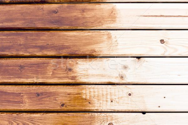 painting wooden table  Stock photo © jirkaejc