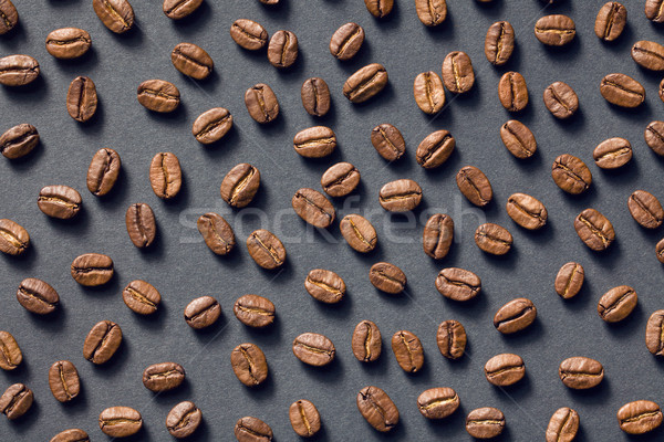 top view of coffee beans Stock photo © jirkaejc