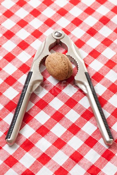 Noce picnic tovaglia alimentare sfondo Foto d'archivio © jirkaejc