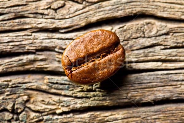 coffee bean on wooden background Stock photo © jirkaejc