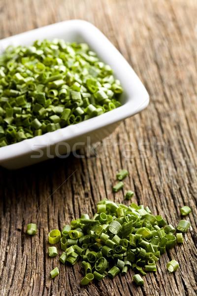 green chives Stock photo © jirkaejc
