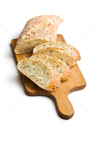 sliced bread on cutting board Stock photo © jirkaejc