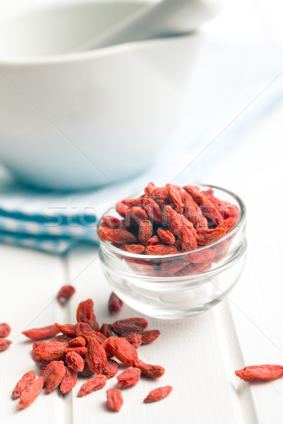 dried goji berries  Stock photo © jirkaejc