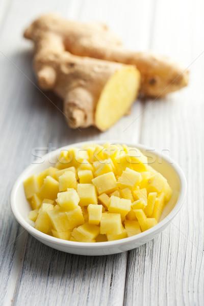 sliced ginger root Stock photo © jirkaejc