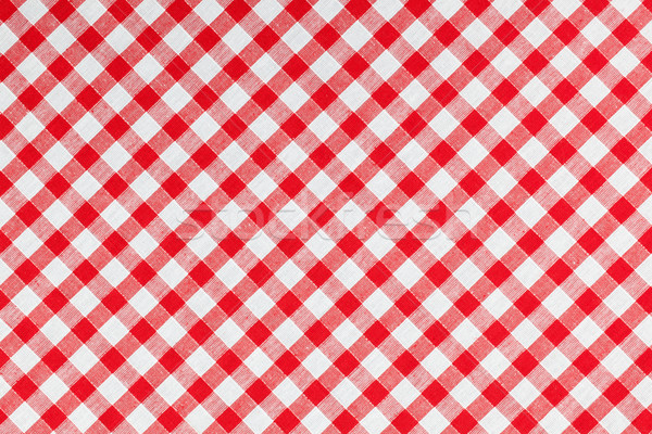 checked fabric , tablecloth texture Stock photo © jirkaejc