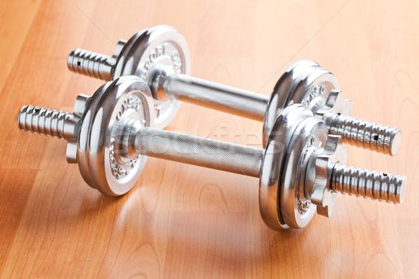 Foto stock: Cromo · edificio · deporte · cuerpo · fitness