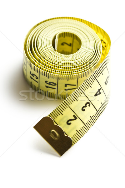 yellow measuring tape Stock photo © jirkaejc