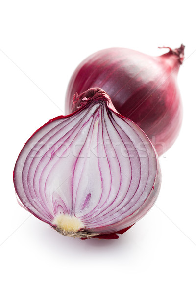 sliced red onion Stock photo © jirkaejc