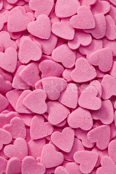 pink hearts background Stock photo © jirkaejc