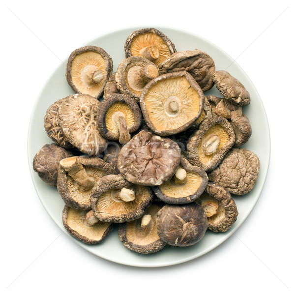 dried shiitake mushrooms Stock photo © jirkaejc
