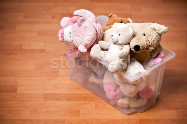stuffed animals in case Stock photo © jirkaejc