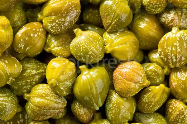 green capers background Stock photo © jirkaejc