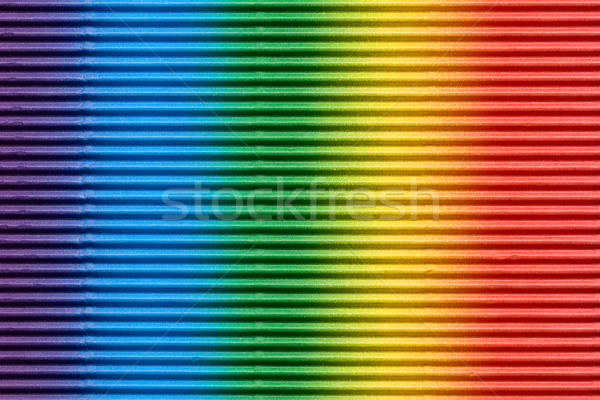 multicolored corrugated cardboard Stock photo © jirkaejc