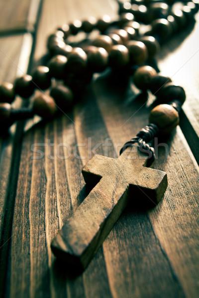 rosary beads Stock photo © jirkaejc