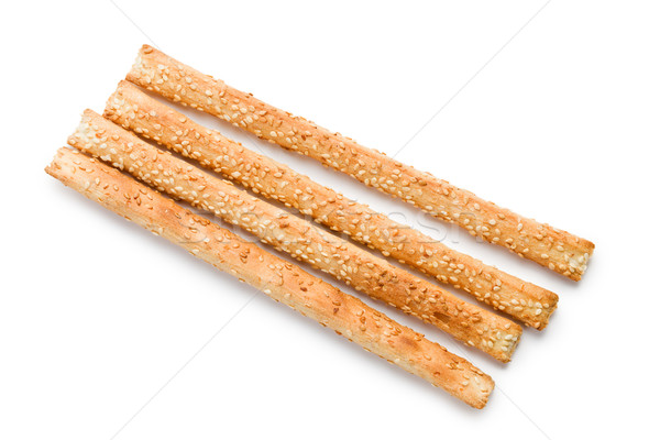 grissini sticks with sesame seeds Stock photo © jirkaejc