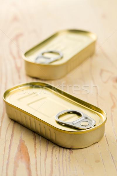 tin can of sardines Stock photo © jirkaejc