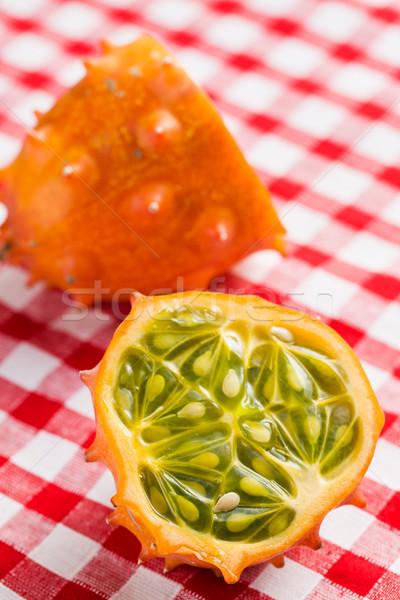 tasty kiwano fruit Stock photo © jirkaejc
