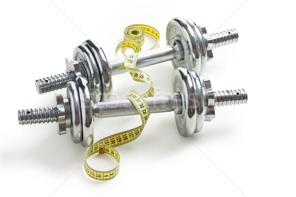 Chrome bâtiment sport corps fitness train Photo stock © jirkaejc