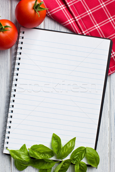 blank recipe book Stock photo © jirkaejc