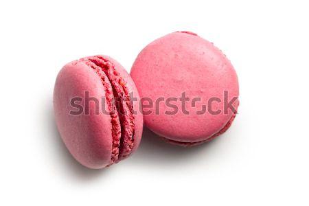 pink macaroons Stock photo © jirkaejc