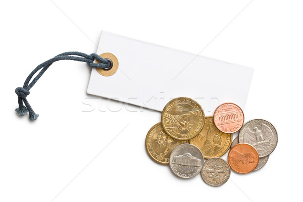 U.S. coins with price tag Stock photo © jirkaejc