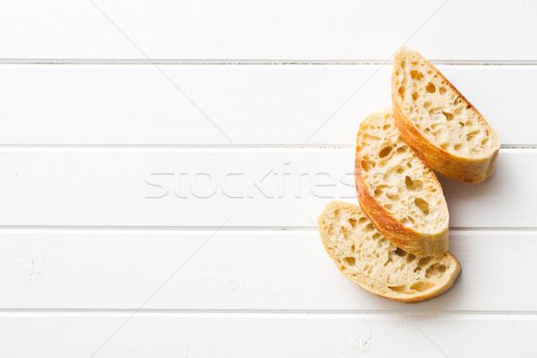 sliced Italian ciabatta Stock photo © jirkaejc