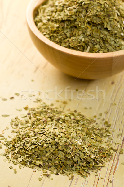 dried leaves of mate tea Stock photo © jirkaejc